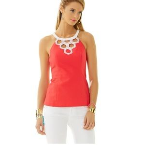 Lilly Pulitzer Annabelle cut out top